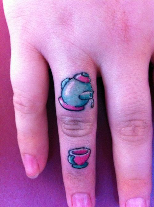 ftc56 #tattoofriday   Finger Tattoos