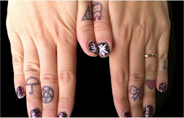 ftc71 #tattoofriday   Finger Tattoos