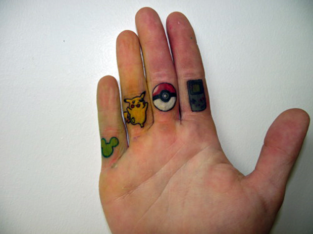 ftcnew1 #tattoofriday   Finger Tattoos