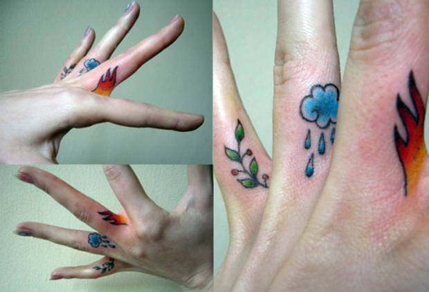 ftcnew3 #tattoofriday   Finger Tattoos