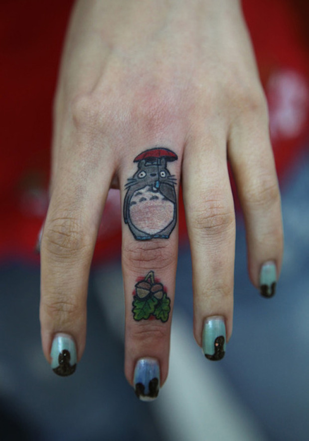 ftcnew5 #tattoofriday   Finger Tattoos