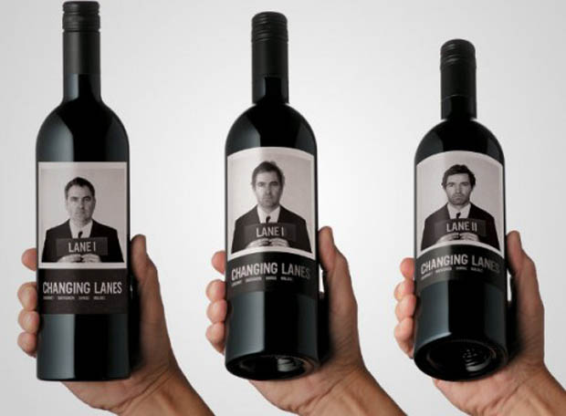 Changing Lanes Wine2 Wine Labels