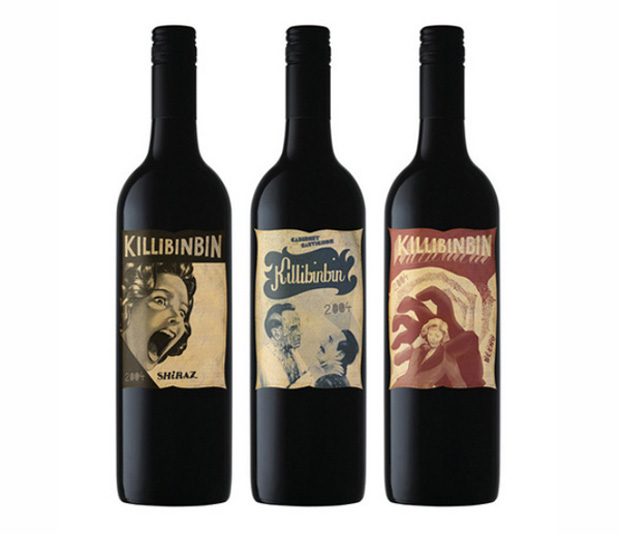Killibinbin Wine Labels
