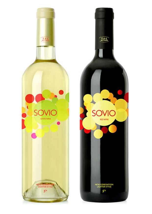 Sovio Wine Labels