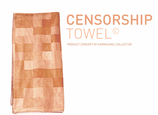 Imagem11 Censorship Towel   Collective Carmichael