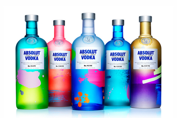 Absolut Vodka Limited Edition UNIQUE Bottles Absolut Unique