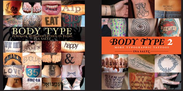 bodytype followthecolours #tattoofriday   Type Tattoo