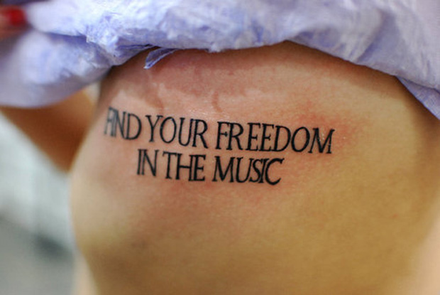 ftc3 #tattoofriday   Type Tattoo
