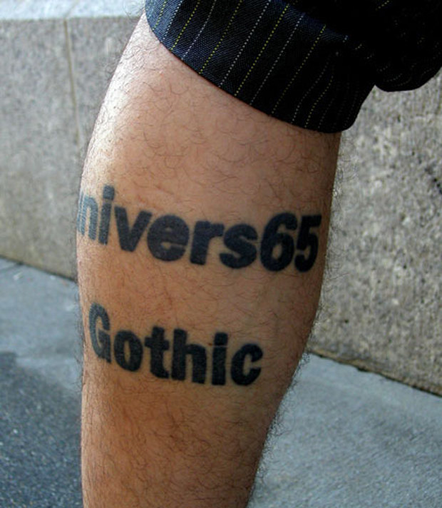 ftc51 #tattoofriday   Type Tattoo