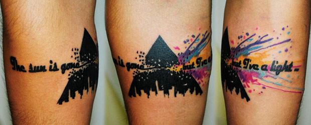 179131 10151035177497351 1329978431 n #tattoofriday   Watercolor Tattoos / Koray Karagözler
