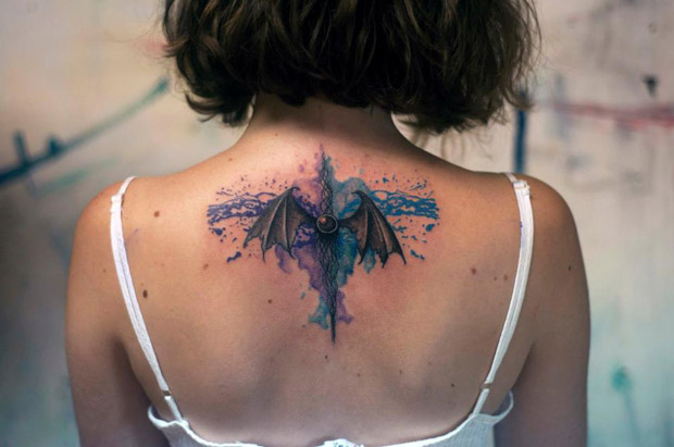 229258 10151173632997351 993023030 n #tattoofriday   Watercolor Tattoos / Koray Karagözler