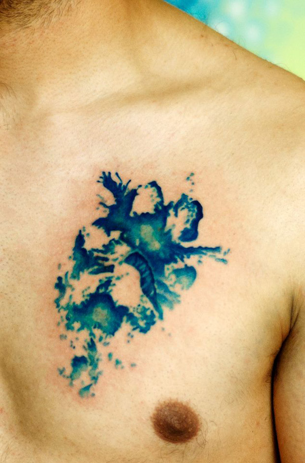 524282 10151150552782351 496905188 n #tattoofriday   Watercolor Tattoos / Koray Karagözler