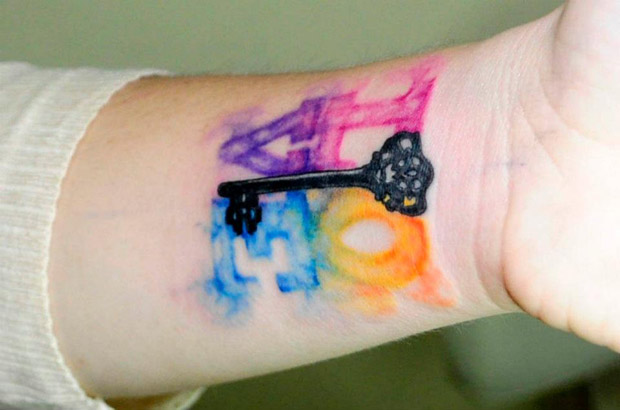 536272 10150694289197351 1468610340 n #tattoofriday   Watercolor Tattoos / Koray Karagözler