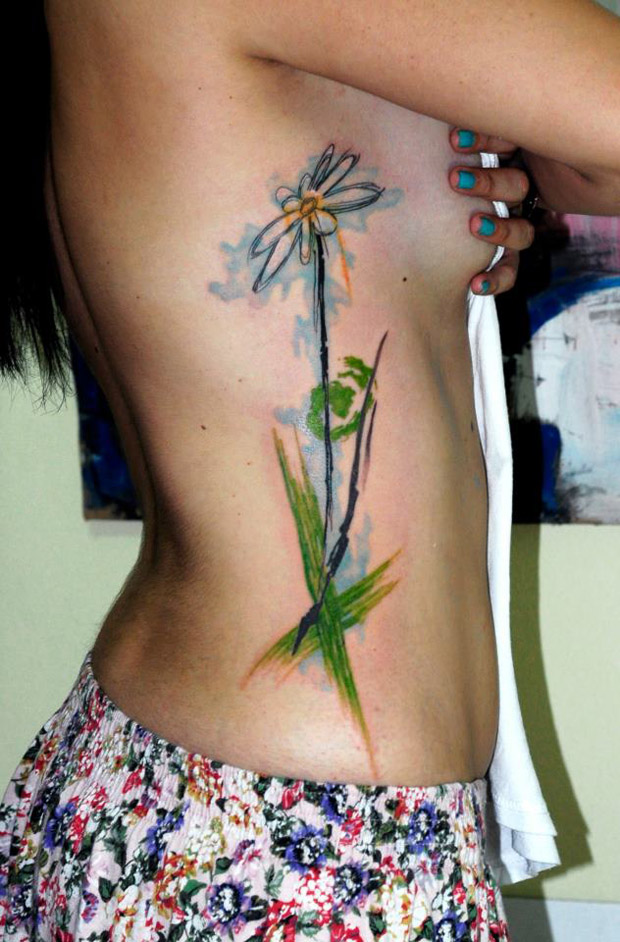 559229 10151088779492351 1781790932 n #tattoofriday   Watercolor Tattoos / Koray Karagözler