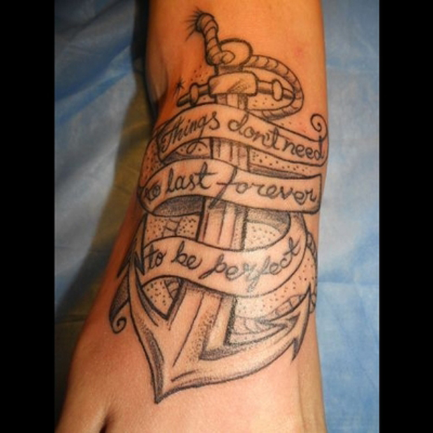follow2 #tattoofriday   Anchor/Âncora tattoos