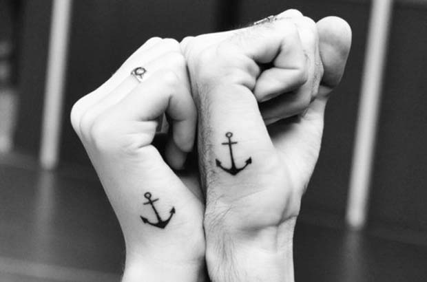 follow20 #tattoofriday   Anchor/Âncora tattoos