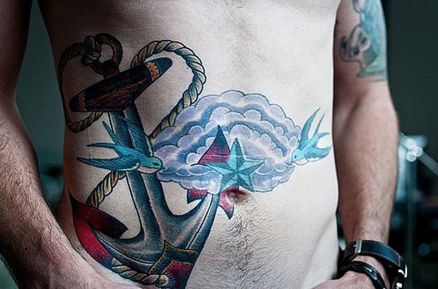 follow25 #tattoofriday   Anchor/Âncora tattoos