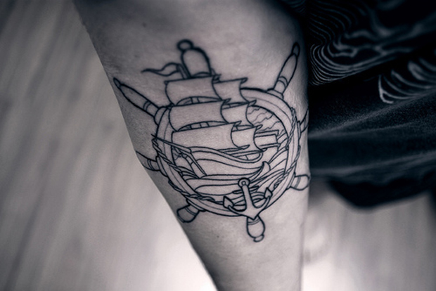follow37 #tattoofriday   Anchor/Âncora tattoos