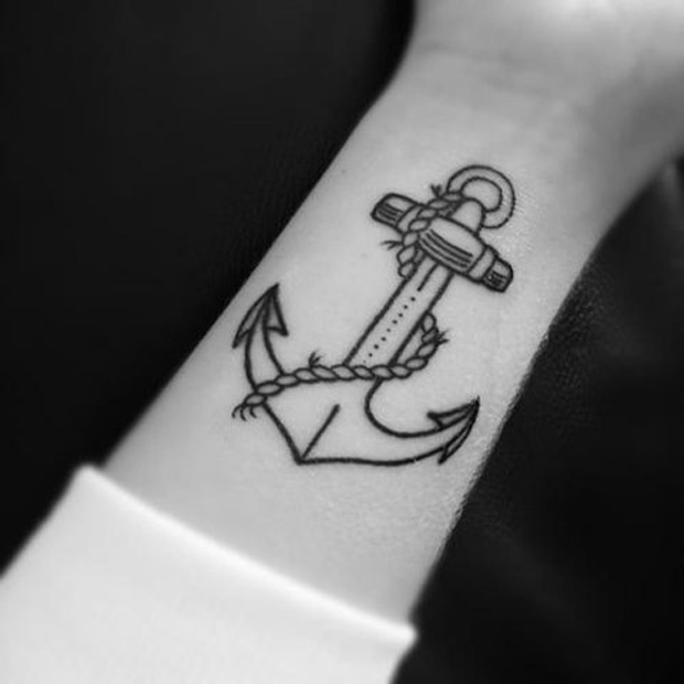 follow40 #tattoofriday   Anchor/Âncora tattoos