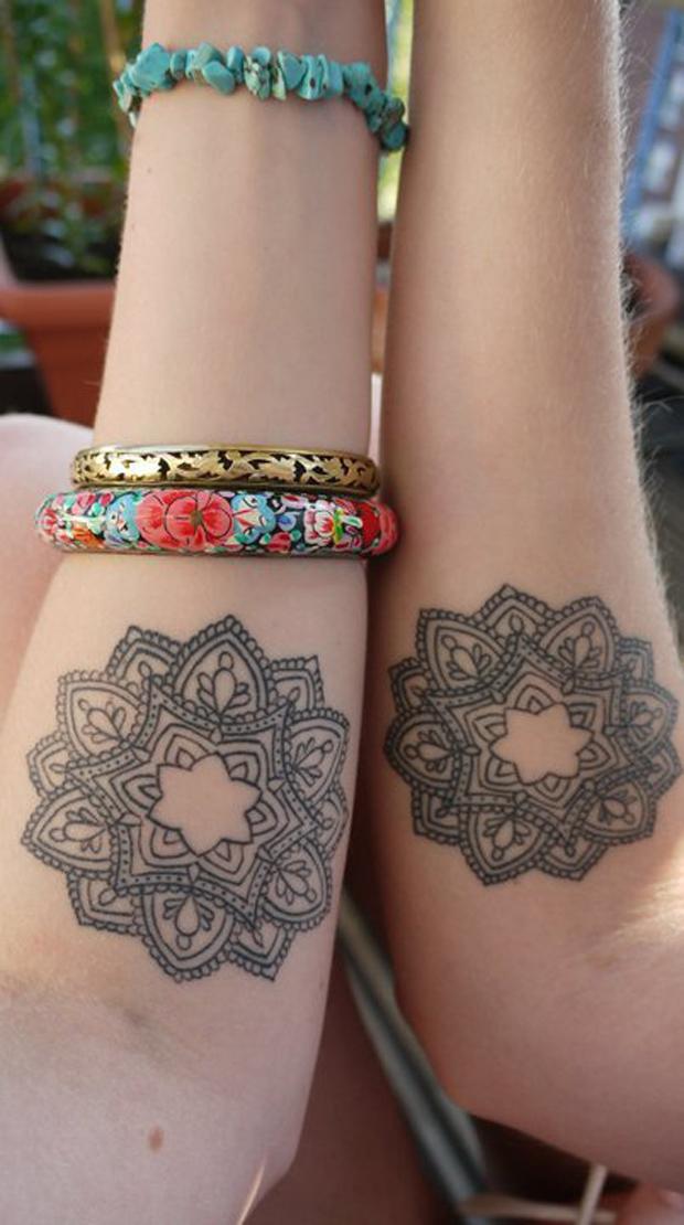 Tattoofriday mandala tattoo follow the colours for Mandala tattoo tumblr