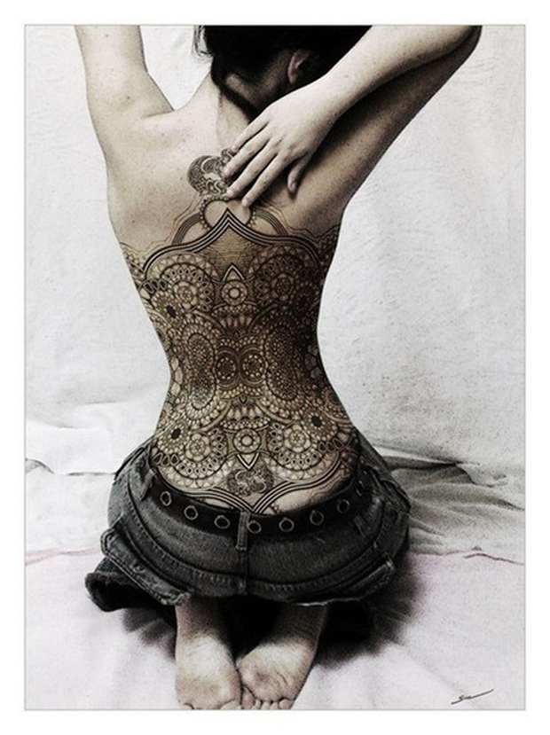 122019471124211712 i8sKEVVA c #tattoofriday   Lace Tattoo/Renda