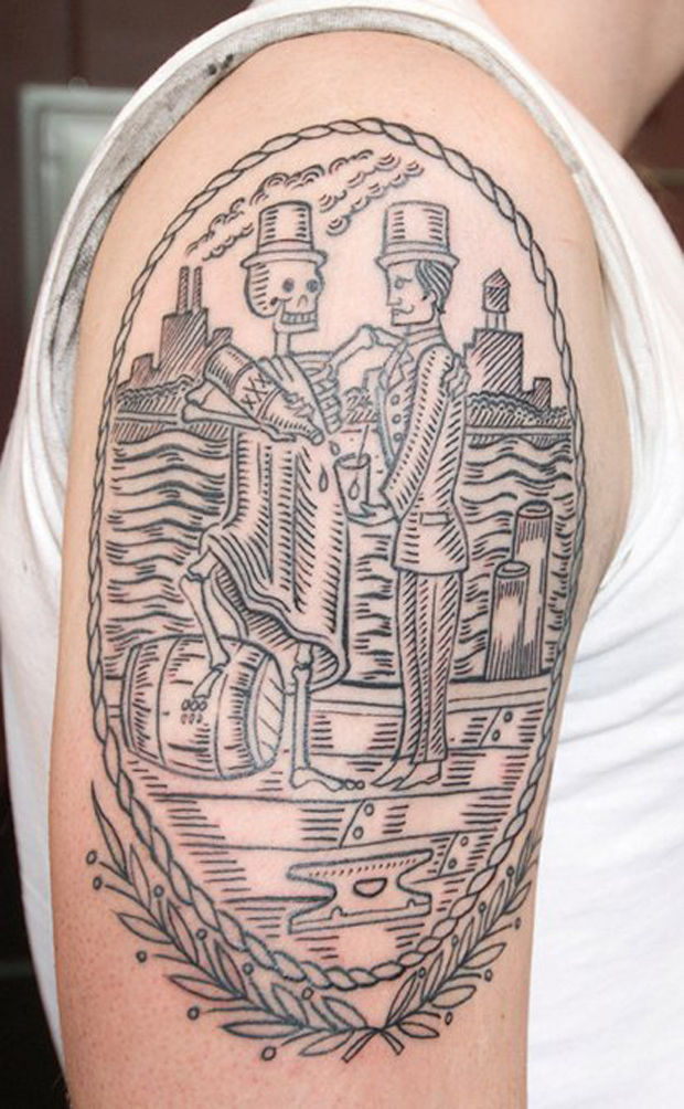 tattoofriday duke riley follow the colours