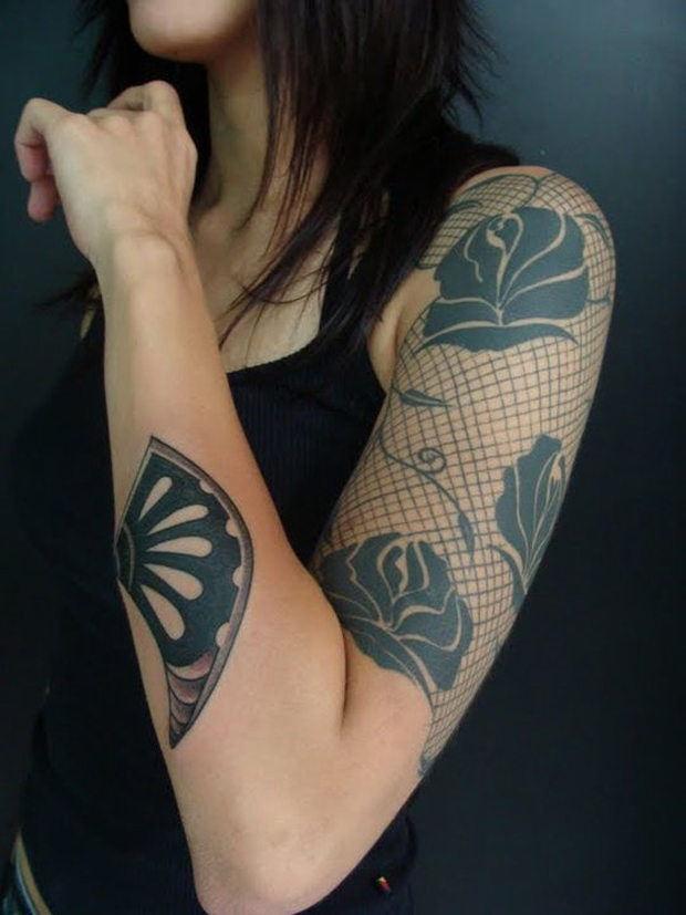 260927372130708706 DgLYkPyn c #tattoofriday   Lace Tattoo/Renda