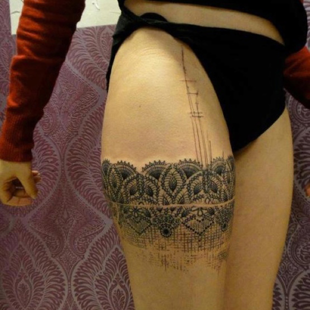 269230883944381091 UczYyqUb c1 #tattoofriday   Lace Tattoo/Renda