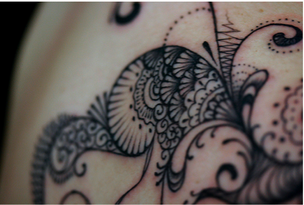 Imagem41 #tattoofriday   Lace Tattoo/Renda