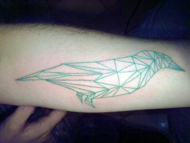 113575221822228086 w6QvdyNG c #tattoofriday   Origami Tattoos