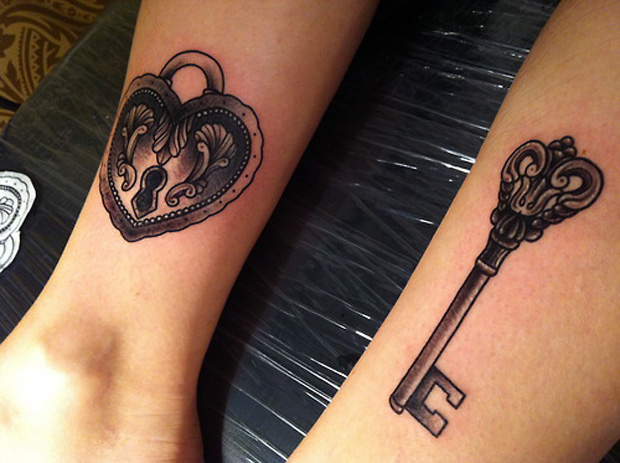 key tattoo followthecolours 31 #tattoofriday   Key Tattoos/Chave