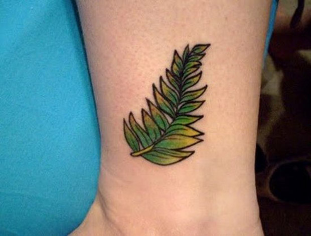 followthecolours leaf tattoo 05 #tattoofriday   Folhas/Leaf Tattoos