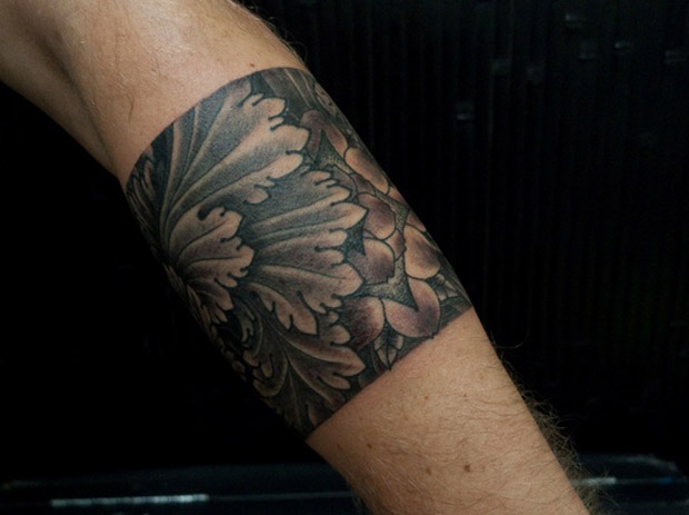 followthecolours leaf tattoo 32 #tattoofriday   Folhas/Leaf Tattoos