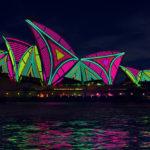 Festival Vivid Sydney transforma a cidade na Austrália com muitas cores