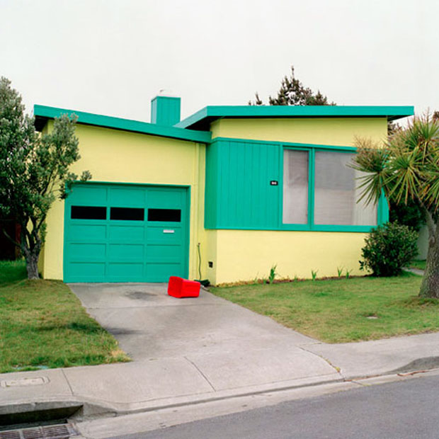 Jeff Brouws Freshly Painted Houses