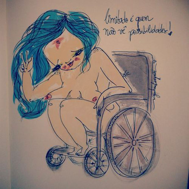 followthecolours negahamburguer 04 Projeto Beleza Real ilustra mulheres livres de padrões