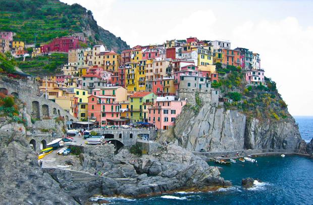 followthecolours Cinque Terre Para conhecer: 10 Lugares Super Coloridos no Mundo