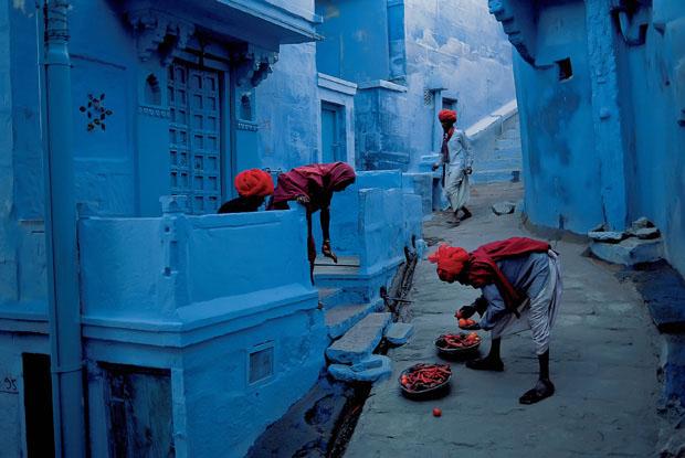 followthecolours Jodhpur india Para conhecer: 10 Lugares Super Coloridos no Mundo