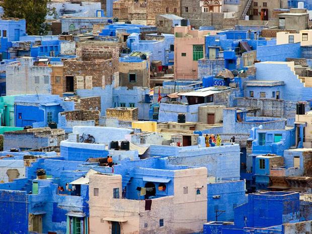 followthecolours Jodhpur Para conhecer: 10 Lugares Super Coloridos no Mundo