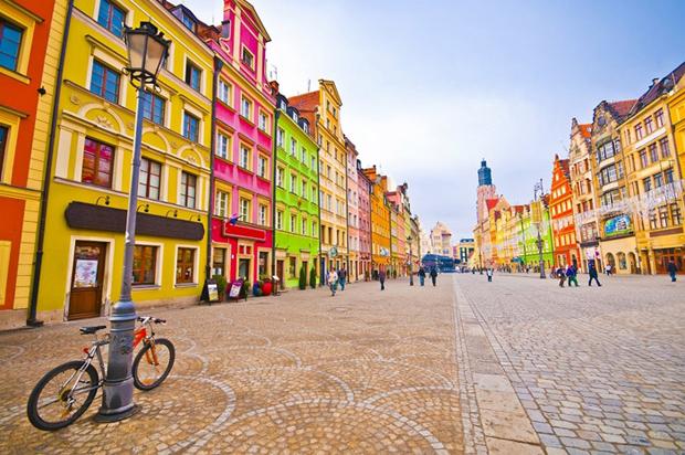 followthecolours Wrocalw Para conhecer: 10 Lugares Super Coloridos no Mundo