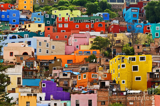 followthecolours guanajuato mexico Para conhecer: 10 Lugares Super Coloridos no Mundo