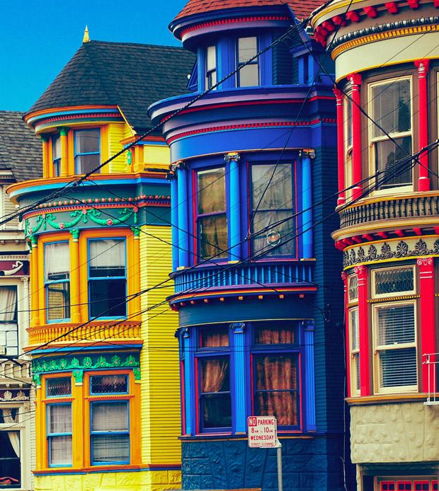 followthecolours san francisco usa Para conhecer: 10 Lugares Super Coloridos no Mundo