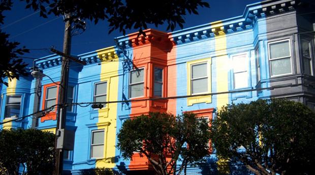 followthecolours sanfrancisco Para conhecer: 10 Lugares Super Coloridos no Mundo