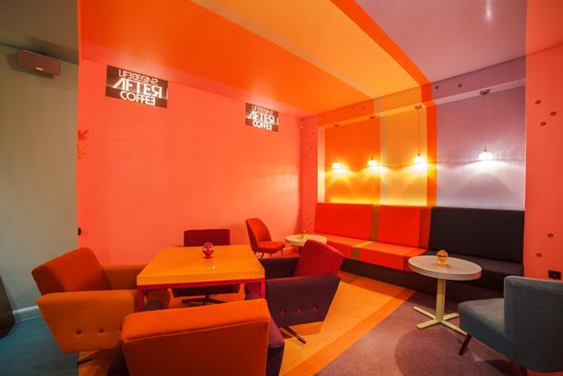follow the colours cafe in 06 Cafein, um café pra lá de colorido na Polônia!
