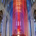 Essas instalações internas coloridas trazem experiências incríveis!