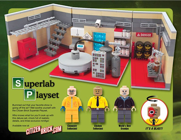 follow the colours breaking bad Citizen Brick 06 Breaking Bad ganha uma versão blocos de montar
