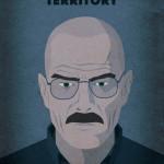 Designer cria um pôster para cada episódio de Breaking Bad