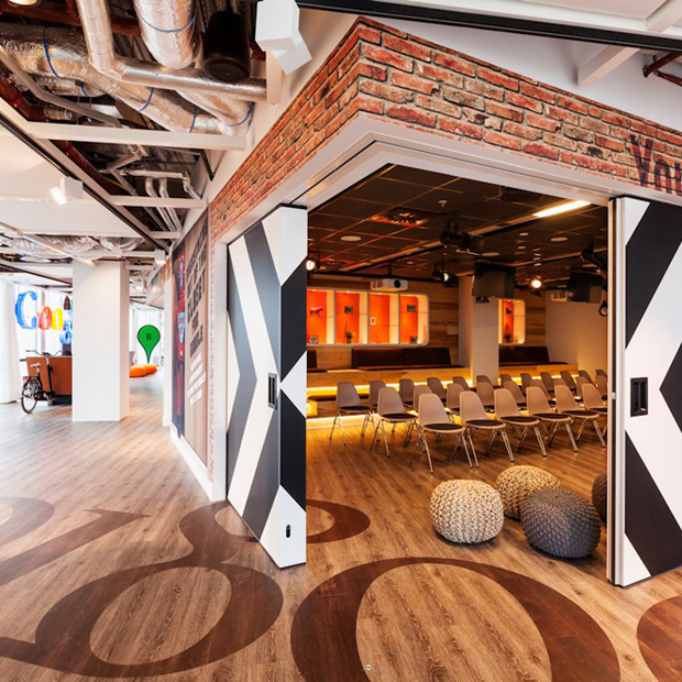 follow the colours google office in amsterdam by ddock 01 Google Office em Amsterdam ganha redesign por D/DOCK