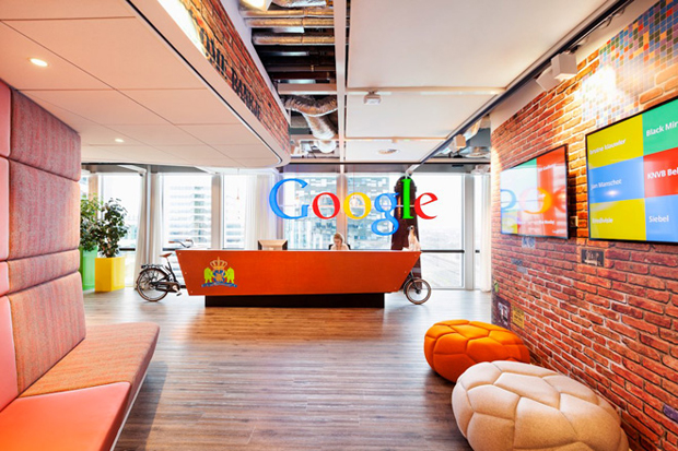 follow the colours google office in amsterdam by ddock 02 Google Office em Amsterdam ganha redesign por D/DOCK