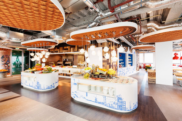 follow the colours google office in amsterdam by ddock 07 Google Office em Amsterdam ganha redesign por D/DOCK
